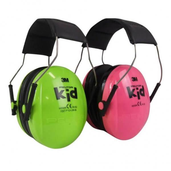 אוזניות נגד רעש לילדים בצבעים. חנות מגן אופטיק
