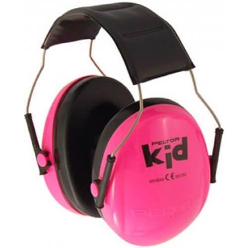 אוזניות מגן לילדים 3M PELTOR KID ורוד