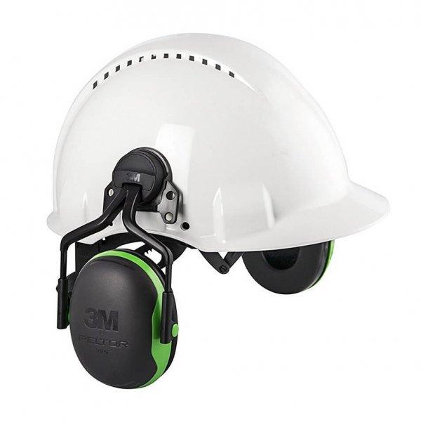 אוזניות נגד רעש עם חיבור קסדה מסדרת 3M PELTOR X SERIES