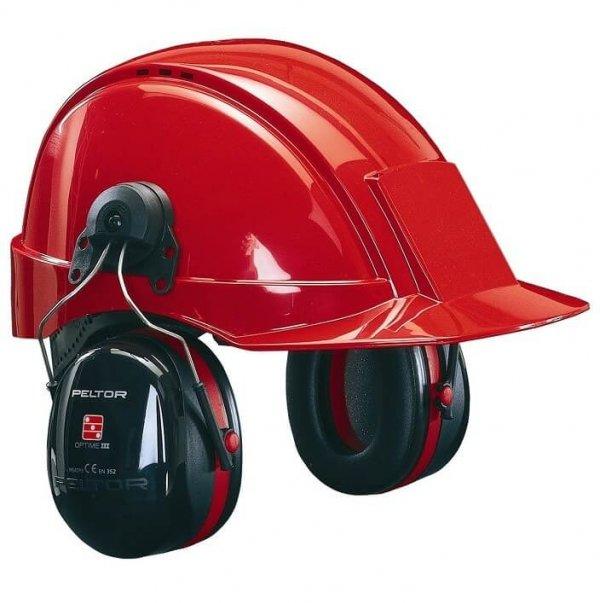 H10P3E 3M PELTOR אוזניות נגד רעש עם קסדה מתקפלות