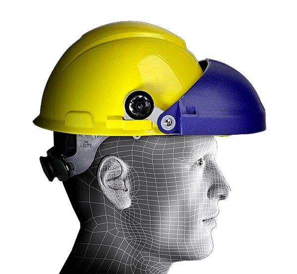 מגן פנים חיבור קסדה וכובע מגן 3M_