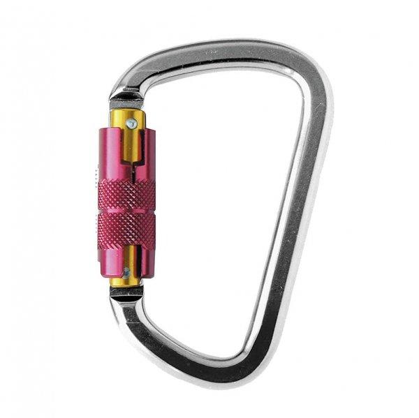טבעת חיבור D, עשויה אלומיניום עם נעילה אוטומטית,מפתח 25 מילימטר-min