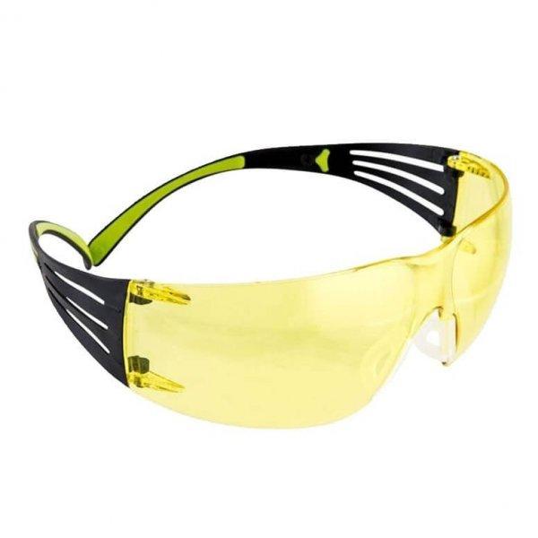 משקפי מגן עם עדשות נגד שריטות וערפל Secure Fit 400 - עדשה צהובה להגברת אור, מעולה למטווחים וכוחות הביטחון
