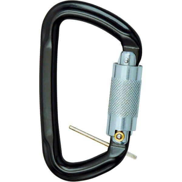 טבעת אבטחה 30KN ומנגנון טוויסט לוק