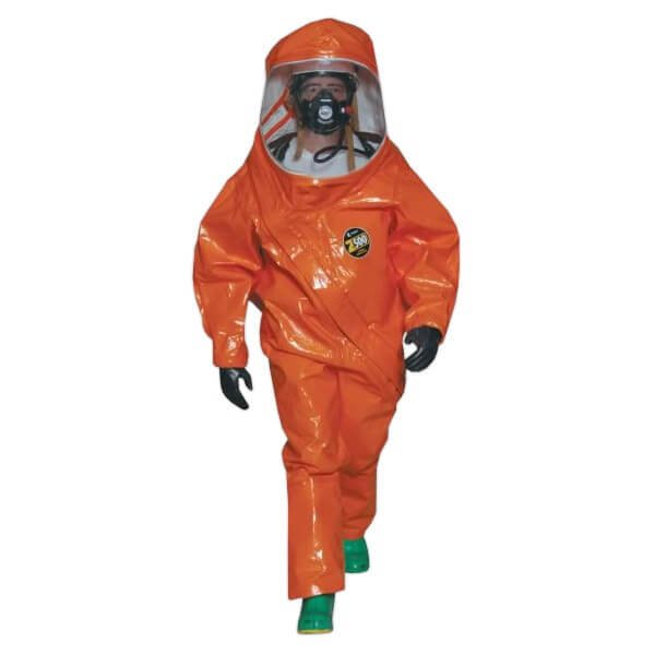 חליפה מגן אטומה לגז וכימיקלים Zytron 500 - LEVEL A