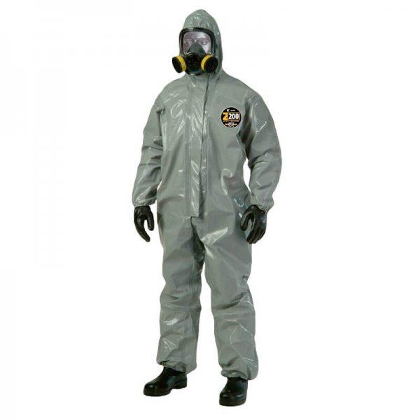 סרבל מגן נגד כימיקלים וריסוס Zytron 200 בעל עמידות כימית ומכאנית גבוהה