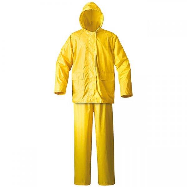 Rain-Suit-Yellow חליפת מגן נגד גשם מ- PVC-min