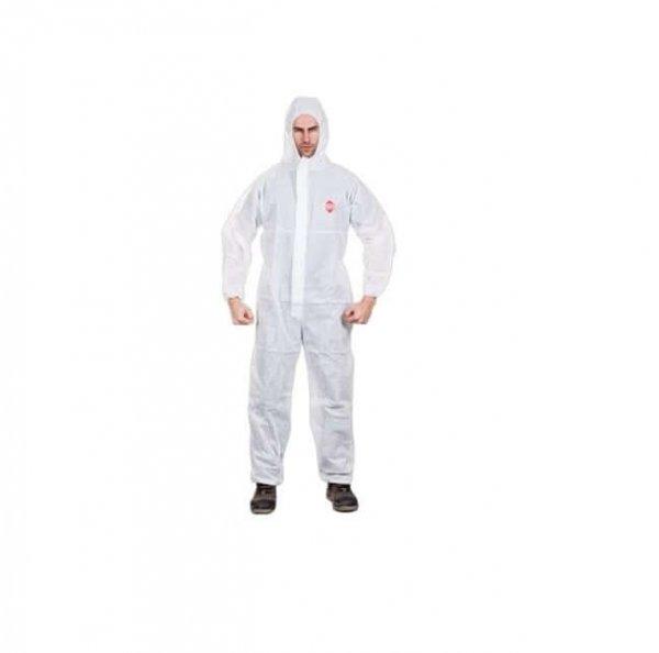 סרבל בטיחות לבן