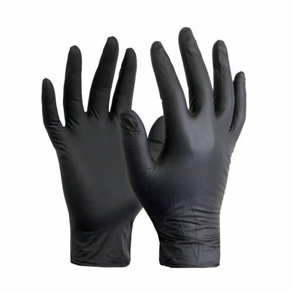 כפפות בטיחות שחורות