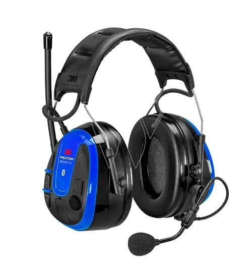 אוזניות תקשורת נגד רעש 3M WS ALERT XPI