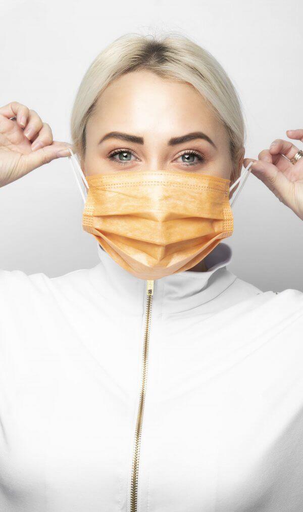 מסיכה רפואית להגנה מנגיפים ווירוסים