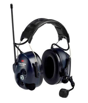אוזניות תקשורת 3M ws litecom plus