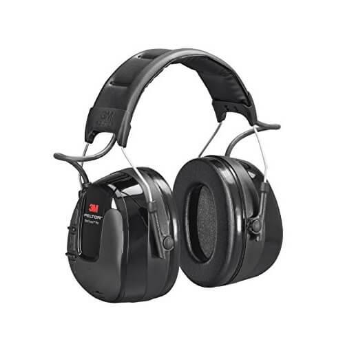 WORKTUNES 3M אוזניות נגד רעש עם רדיו FM